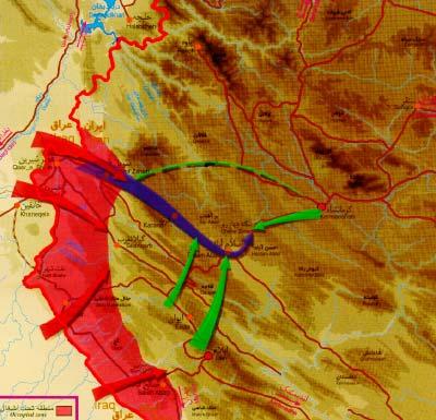 mersad عملیات مرصاد  + شهدای پدافندی ترکالکی(مرداد ماه)