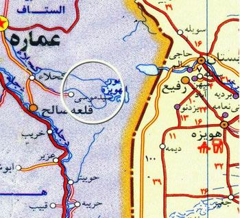 نقشه محور عملیاتی